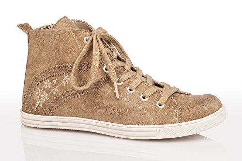 sale sale online Spieth & Wensky Women's 457 D Waltrun-Sneaker Hi-Top Trainers Beige (Whisky/St 0761 Natur 9804) footaction cheap price latest online amazon online mnLbp81d