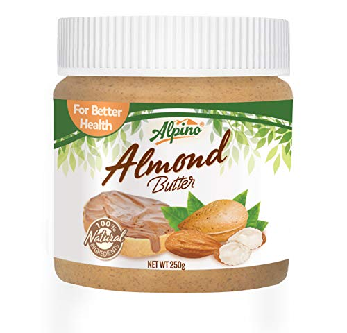 (Alpino Natural Almond Butter 250g (Unsweetened))