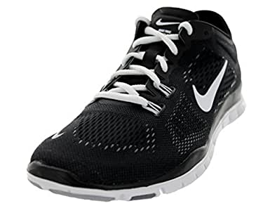 Nike Free 5.0 TR Fit 4 (Black/Cool Grey/Wolf Grey/White) Womens Running Shoes...