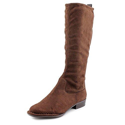 Giani Bernini Womens Alka Closed Toe Knee High Fashion Boots Dark Brown