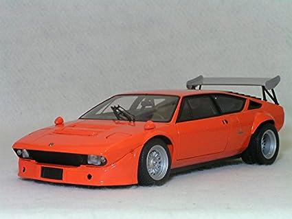 Amazon Com Lamborghini Urraco Rally W Rear Wing Orange Diecast