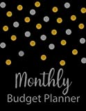img - for Monthly Budget Planner: Glitter Weekly Expense Tracker Bill Organizer Notebook Business Money Personal Finance Journal Planning Workbook size 8.5x11 Inches (Expense Tracker Budget Planner) (Volume 1) book / textbook / text book