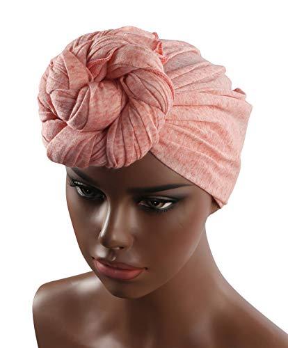 c9e640faa06 Turban Hat Headband Head Wrap - Magic Jersey Turbans HeadWrap Chemo Cap Tube  Scarf Tie Hijab For Hair Muslim bohemian boho Black African Women