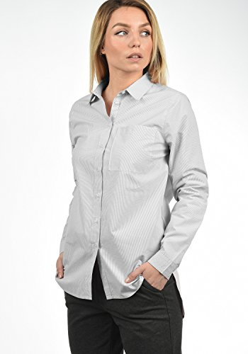 Lunga Grey Desires Fit Camicetta Look Manica In Cotone 2842 Da 100 Mid Business Drina Camicette Donna Loose tqgwqZf