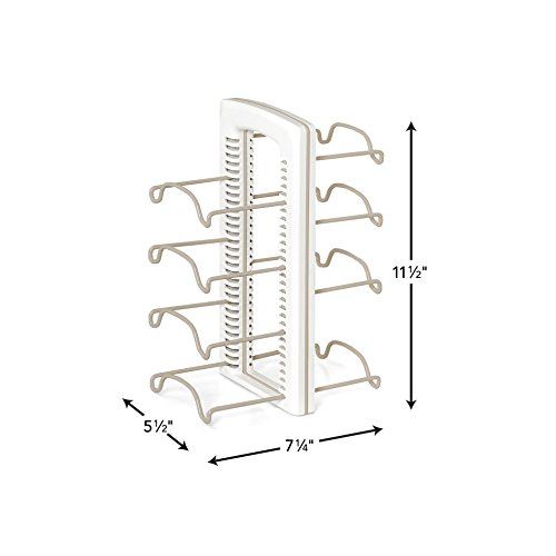 Large Product Image of YouCopia StoreMore Adjustable WrapStand Kitchen Wrap Organizer, White