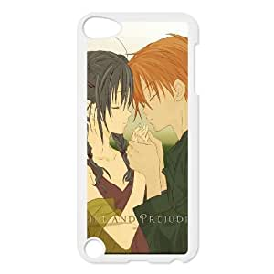 Pride And Prejudice Boy Girl Tenderness Love Touch 24936 funda iPod Touch 5 caja funda del teléfono celular blanco cubierta de la caja funda EEECBCAAL17691