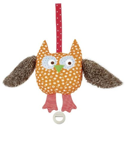 Kathe Kruse - Alba the Owl Musical Toy ()