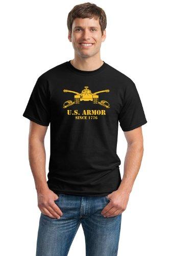 U.S. ARMY ARMOR, SINCE 1776 Unisex T-shirt / Tank Military Cavalry Pride