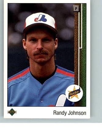 Amazon 1989 Upper Deck Baseball Rookie Card 25 Randy Johnson Mint Collectibles Fine Art