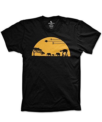 Guerrilla Tees At At Shirt Funny Movie Shirts Funny Tshirts Graphic Space Shirt  Medium