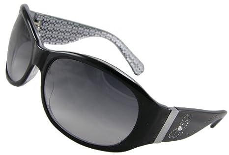 Amazon.com: Coach anteojos de sol, Suzie S446, lentes Negro ...