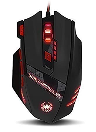 Amazon.com: Zelotes T90 Optical PC Gaming Mouse Computer Mouse ...
