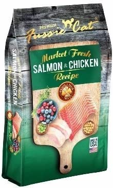 Fussie Cat Dry Cat Market Fresh Salmon Chicken Formula 10 Pound Bag. Fast Delivery, by Just Jak s Pet Market