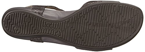 ECCO Touch 25 S - Correa de Tobillo Mujer Gris (DARK SHADOW/DARK SHADOW56586)