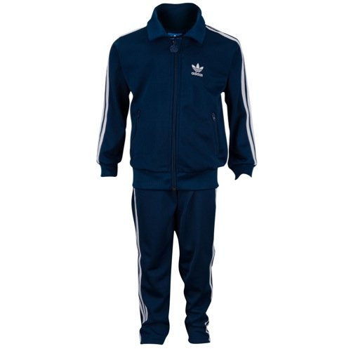 Adidas Originals Infant Firebird Track Sweatsuit Oxford Blue/White AB1863 Size 2T