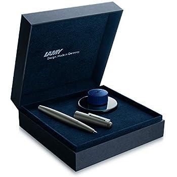 Lamy 2000 Fountain Pen, Fine Nib, Amber Gold (L02MBRF)