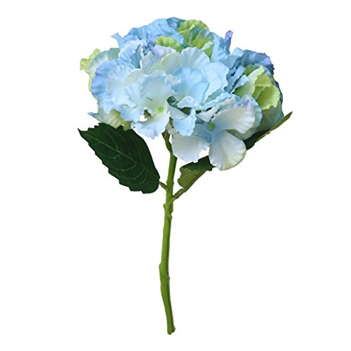 - Inverlee 1Pcs 6 Heads Artificial Flowers Peony Floral Fake Flowers Wedding Bridal Bouquet DIY Home Garden Decor (B)