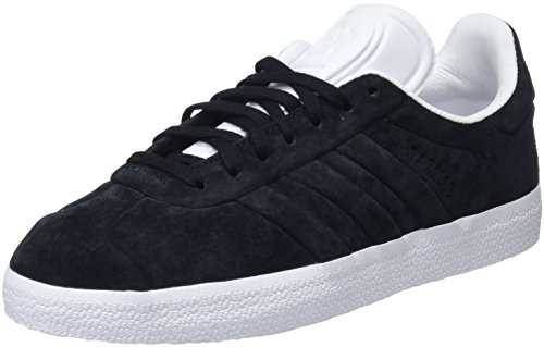 Core Footwear and Stitch Gazelle Black Black White para Turn 0 Core Adidas Hombre Zapatillas Negro xFAgq1
