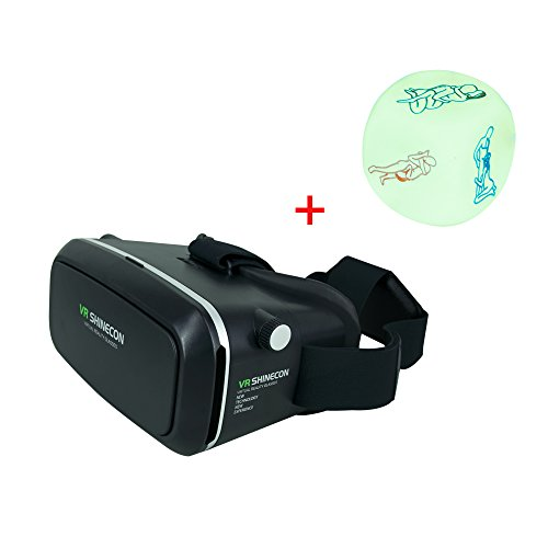 DGAGA Google Cardboard Virtual Reality Headset VR 3D Video Games VR Glasses 360 Viewing Immersive 3D Viewing for 4.7- 6 Inch Google iPhone 6 Plus/6 Samsung Note 4/3 LG Nexus HTC, Moto Smartphones