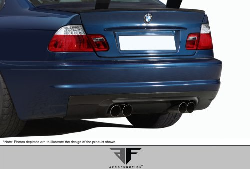 2001-2006 BMW M3 E46 2DR AF-1 Rear Diffuser ( CFP ) - 1 Piece