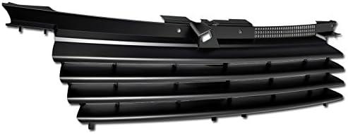 Armordillo USA 7163492 Horizontal Grille Fits 1999-2004 Volkswagen Jetta Matte Black