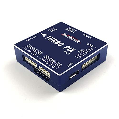(ROWEQPP Turbo PIX V1.0 Module PPM SBUS Flight Controller MPU6500 w/ 6pcs SUI04 Ultrasonic Ranging Sensor Transceiver for RC Drone)