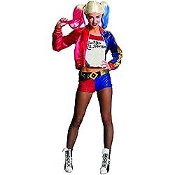 Rubie's Women's Suicide Squad Deluxe Harley Quinn Costume, Multi, Medium