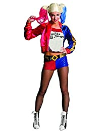 Rubies Costume Rubie's Women's Suicide Squad Deluxe Harley Quinn Costume