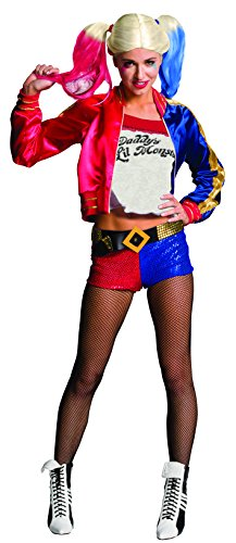 Rubie's Women's Suicide Squad Deluxe Harley Quinn Costume, Multi, Small (Party City Halloween Costumes In Store)