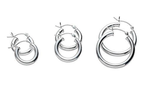 3 Set Pair Hoop Earrings Set 3
