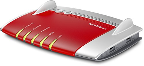 AVM FRITZ!Box 7490 WLAN AC + N Router (VDSL/ADSL, 1.300 Mbit/s (5 GHz), 450 Mbit/s (2,4 GHz), DECT-Basis, Media Server)