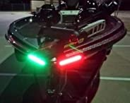 Boat Bow LED Lighting RED & Green