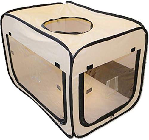 ペット用 酸素室用ケージ ペットオキシホテル スクエアMサイズ(外寸:W60×D90×H60cm)