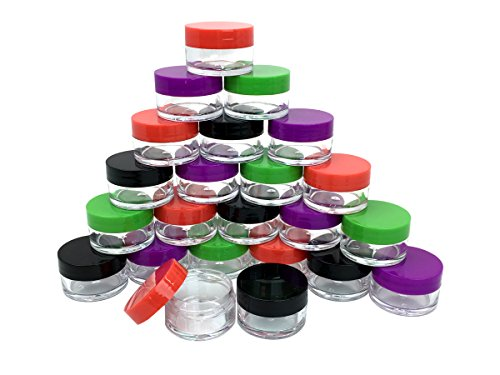 Beauticom Pieces Plastic containers cosmetic