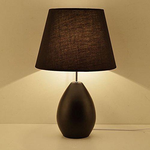 HYW Tischlampe-Lampe Schlafzimmer Box Lampen modernen minimalistischen Auge Studenten Studieren Licht und stilvolle kreative Eisen Lampen dimmen Fernbedienung