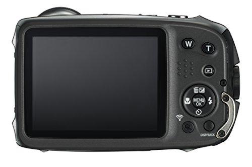 Fujifilm FinePix XP130 16.4MP Digital Camera, 5X Optical Zoom, 1080p Full HD Video, Motion Panorama 360, Wi-Fi, Water/Shock/Freeze/Dustproof, Dark Silver