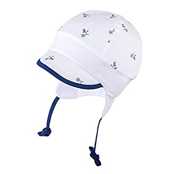 5151aa821 TIE UP 100% Cotton hat with UV +30 Sun Protection Spring Summer Baby ...