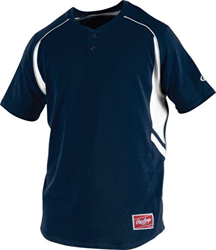 Rawlings ROAD B 88 Parent Mens 2 Button Jersey product image