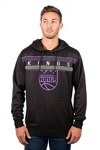 (UNK NBA Men's Fleece Hoodie Pullover Sweatshirt Poly Midtown, Team Color, Medium)