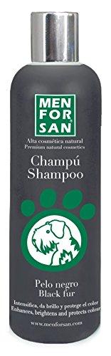 MENFORSAN Champú Perros Pelo Negro –  300 ml