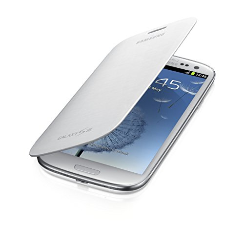 Samsung Protective Flip Cover Case for Samsung Galaxy S3 III - White (Certified Refurbished)