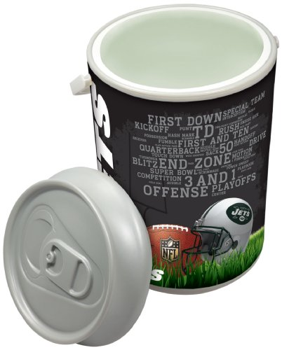 NFL New York Jets Insulated Mega Can Cooler, 5-Gallon
