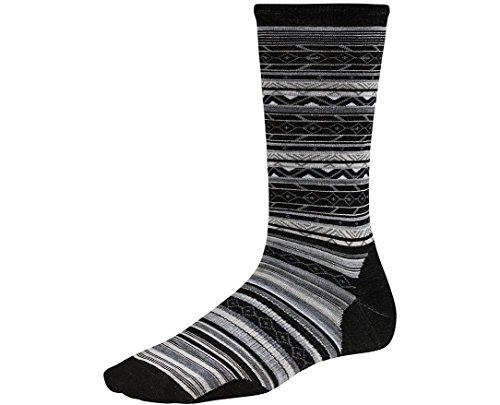 Smartwool Women's Ethno Graphic Crew Socks (Black) Medium