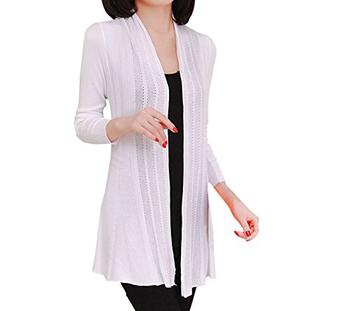 Shawhuaa Womens knitted Slim Fit Open Fr - Summer Cotton Jacket Shopping Results