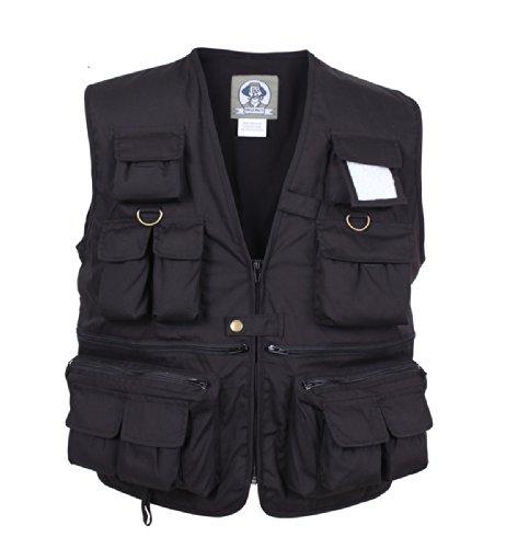 Uncle Milty Black Travel Vest - 1