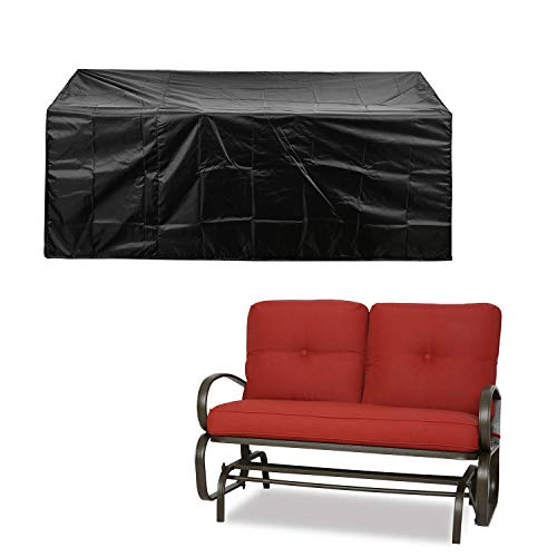 Patio Sofa Love Seat Covers Waterproof Durable 78 L x 33 D x 33 H Black