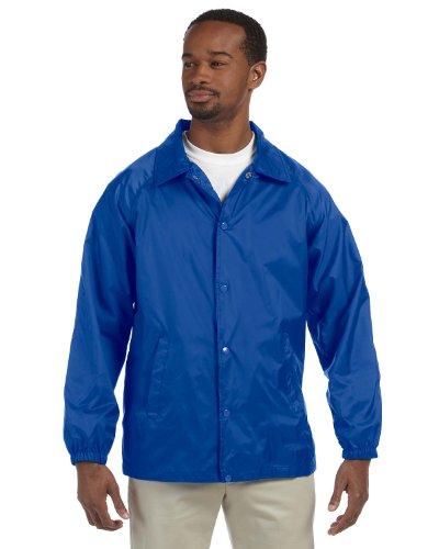 Harriton Men's Raglan Sleeves Nylon Staff ()