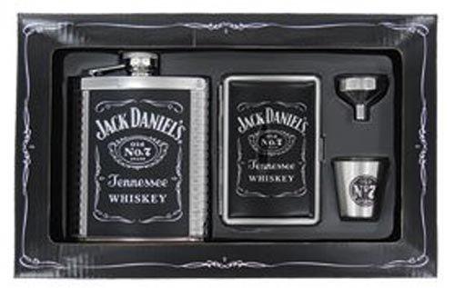 Jack Daniel's Flask/Case/Shot/Funnel Gift Set ()