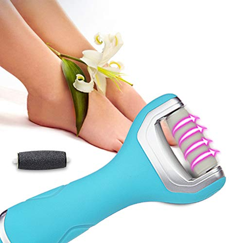 RedDhong Electric Callus Remover and Shaver, Rechargeable Wet and Dry Foot File, Removes Dead, Hard, Cracked Skin and Calluses, Pedicure Foot Tool