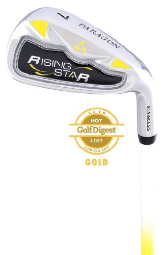 - Paragon Rising Star Kids Junior #7 Iron Ages 5-7 Yellow / Left-Hand